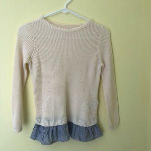 Kids size 12 crewcuts sweater
